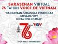 """Sarasehan Virtual """"Bangkitkan Semangat Pendengar Bersama dengan VOV di Era New Normal"""""""