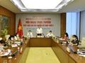 Trân Thanh Mân rencontre virtuellement des électeurs de la province de Hâu Giang