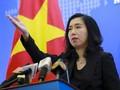 베트남, 황사군도에서의 불법적 중국 군사훈련에 항의 표시