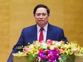越南国会选举范明正为政府总理