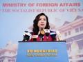 Portavoz de la Cancillería expresa su apoyo y confianza a Cuba