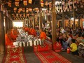 クメール族 豊作を喜びながら伝統的な正月を楽しむ