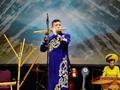 ベトナムの民族楽器サオ横笛の演奏
