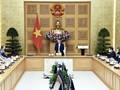 Le Premier ministre Pham Minh Chinh reçoit des représentants de l'ONU