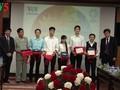 第1回「ベトナムAPEC2017クイズコンクール」の授賞式