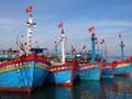 国家主席、漁民に5000枚の国旗を寄贈