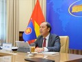 Gewährleistung der zentralen Rolle und Außenbeziehungen der ASEAN