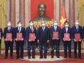 Der Staatspräsident ernennt neue vietnamesische Botschafter