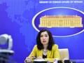 Việt Nam mong muốn các nước có trách nhiệm giữ hòa bình ổn định ở Biển Đông