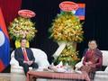 Chúc mừng Tết cổ truyền Bunpimay của Lào