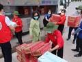 Hội Chữ thập đỏ Việt Nam tiếp nhận ủng hộ công tác phòng, chống dịch