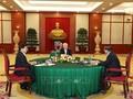 Lãnh đạo cấp cao Việt Nam - Campuchia - Lào thống nhất tăng cường quan hệ truyền thống, đoàn kết hữu nghị, gắn bó giữa ba đảng, ba nước