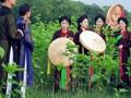Trầu cau quan họ - Chị hội Nét Việt, CHLB Đức
