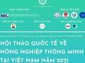 Hội thảo Quốc tế về Nông nghiệp Thông minh tại Việt Nam năm 2021