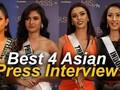 4 BEST ASIAN PRESS INTERVIEW - Miss Universe 2020