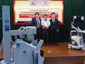 Nhật Bản trao tặng thiết bị y tế phòng, chống dịch COVID-19