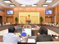 Chủ tịch Quốc hội chủ trì buổi làm việc về chính sách tài khóa và chính sách tiền tệ
