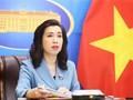 Vietnam reafirma su posición coherente sobre el tema del Mar del Este