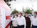 Législatives 2021: Nguyên Xuân Phuc rencontre les électeurs à Hô Chi Minh-ville