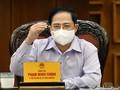 นายกรัฐมนตรี ฝ่ามมิงชิ้งเป็นประธานในการประชุมประจำเดือนของรัฐบาลเกี่ยวกับงานด้านการจัดการเลือกตั้ง