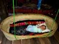 Tục thôi nôi của đồng bào Thái ở Sơn La