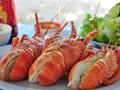 Блюда из тигровых креветок - деликатесы острова Биньба