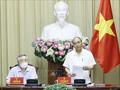 Президент Нгуен Суан Фук провёл рабочую встречу по исполнению приговоров с руководителями соответствующих отраслей