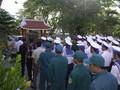 В провинции Куангбинь почтили память бойцов, павших на рифе Гакма
