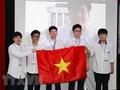 นักเรียนเวียดนามคว้าเหรียญทองในการแข่งขันคณิตศาสตร์และฟิสิกส์โอลิมปิกนานาชาติ