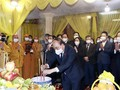 President pays tribute to Vietnam Buddhist Sangha chief Thich Pho Tue  