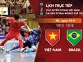 Vietnamesische Futsalmannschaft trifft auf Brasilien in der Finalrunde der Futsal-WM 2021