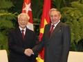 Líder partidista vietnamita envía mensaje a Raúl Castro