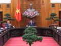 Pham Minh Chinh plaide pour une application efficace de l'accord de libre-échange Vietnam - Royaume-Uni.