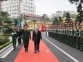 Tổng Bí thư Nguyễn Phú Trọng dự kỷ niệm 70 năm truyền thống Bệnh viện Trung ương Quân đội 108