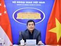 Việt Nam và Singapore tăng cường hợp tác phòng chống dịch COVID-19