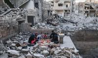 DK PBB mengadakan dialog tentang masalah senjata kimia di Suriah