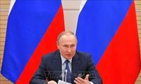 Presiden Rusia menandatangani dekrit mengenai defensif strategis