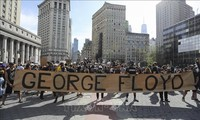 Berbagai demonstrasi di AS terus berlangsung pada akhir pekan lalu
