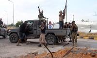 Jerman, Perancis, dan Italia mengancam mengenakan sanksi terhadap semua negara yang melakukan intervensi di Libia