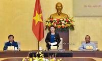 Sidang pertama Dewan Pemilihan Nasional Vietnam