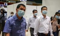 Rumah Sakit Lapangan Kompleks Olahraga Tien Son (Da Nang) dioperasikan pada Jumat (14/8)