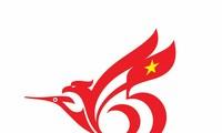 Mengumumkan hasil sayembara pembuatan logo peringatan ultah ke-65 penggalangan hubungan diplomatik Vietnam–Indonesia