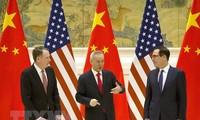 AS dan Tiongkok menunda pembahasan online tentang permufakatan dagang