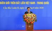 Membawa hubungan kemitraan dan kerjasama yang strategis dan komprehensif Vietnam-Tiongkok menjadi intensif