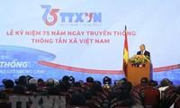 Kantor Berita Vietnam perlu terus menjaga secara mantap posisi sebagai satu pusat informasi yang tepercaya Partai Komunis dan Negara