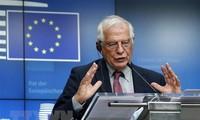 Uni Eropa memprotes AS yang mengenakan kembali sanksi-sanksi PBB terhadap Iran