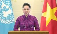 Mendorong kesetaraan gender dan hak perempuan merupakan kebijakan konsekuen Negara Vietnam