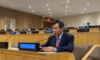 Vietnam berkomitmen memberikan sumbangan untuk memperkuat yurisdiksi  di tingkat nasional dan internasional