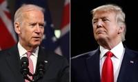 Dua kandidat capres AS terus berkompetisi sengit di negara-negara bagian krusial yang tersisa