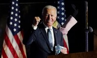 Pilpres AS 2020: Kandidat Joe Biden menyatakan kemenangan